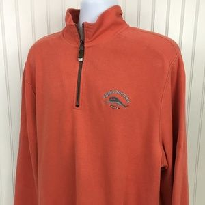 Tommy Bahama Relax Men's 1/4 Zip Pullover XL